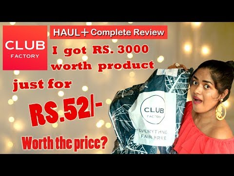 CLUB FACTORY Haul || Detailed Review About Club Factory || In Tamil ||Sowbaraniya Ramesh