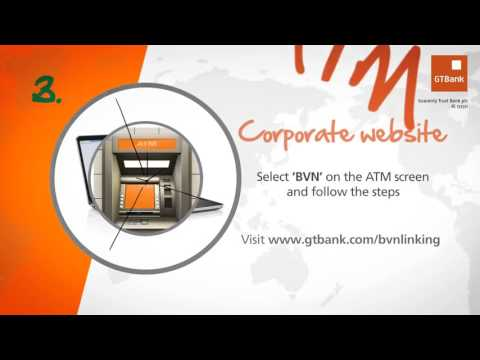 How To Link Your BVN To Your GTBank Account