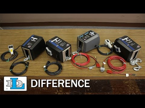 StrongArm® Electric Winches - DL Difference