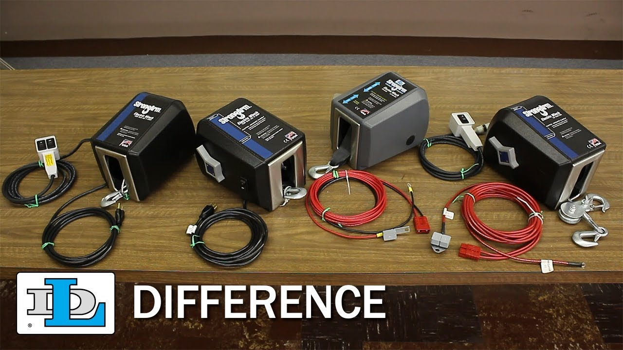 hight resolution of strongarm electric winches dl difference