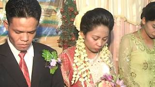 film pernikahan adat istiadat batak Toba. romantis