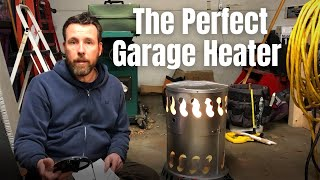 Propane Garage Shop Heater Set Up and Review