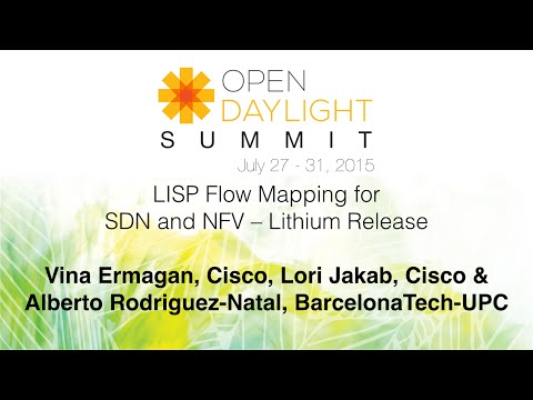 LISP Flow Mapping for SDN and NFV – Lithium Release