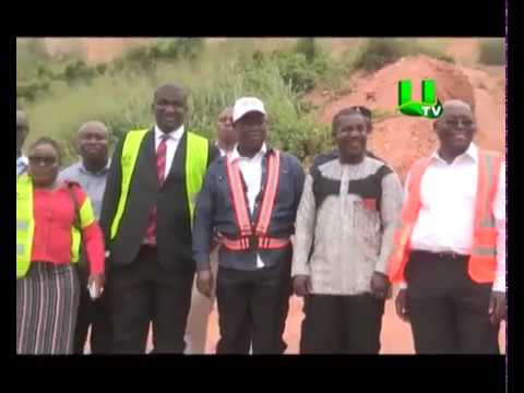 Roads Minister inspects Kasoa Roads