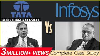 TCS Vs Infosys | Business Case Study in Hindi | Dr Vivek Bindra