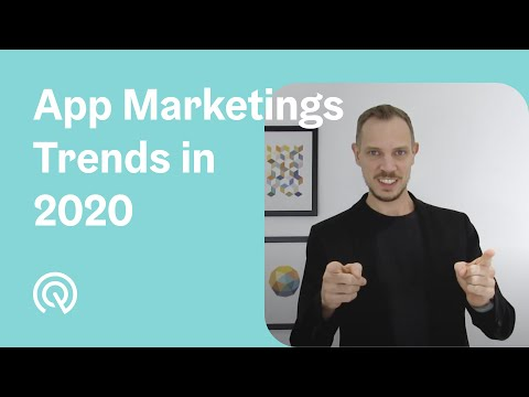 TOP 5 App Marketing Trends In 2020 🔥 Checkout For Nr. 4!