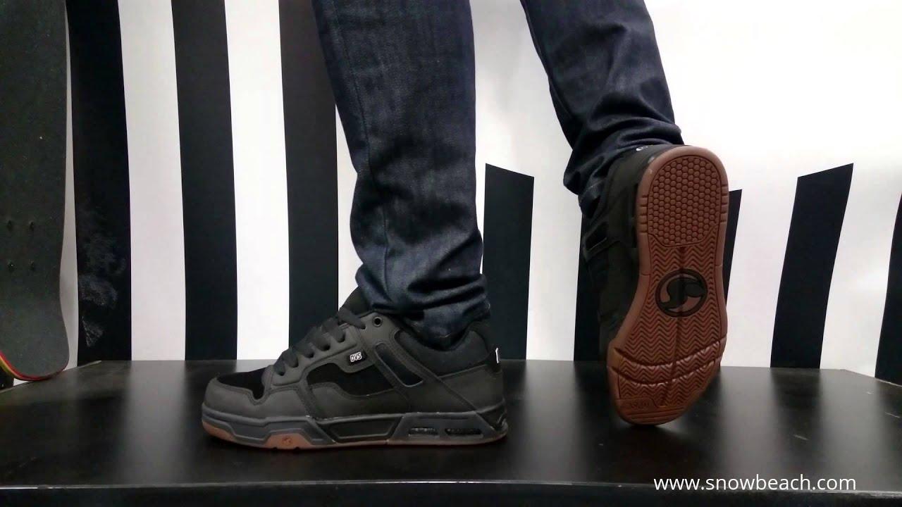eafa0cc9d90de DVS ENDURO HEIR black gunny nubuck - YouTube