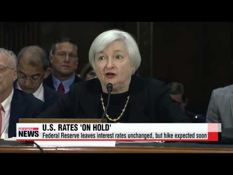 U.S. Federal Reserve leaves interest rates unchanged, but hike expected soon   연