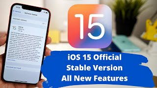 iOS 15 Official Stable Released   All new features explained in Hindi