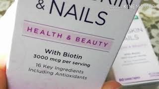 أقراص |hair |skin |nails |لتساقط الشعر ?