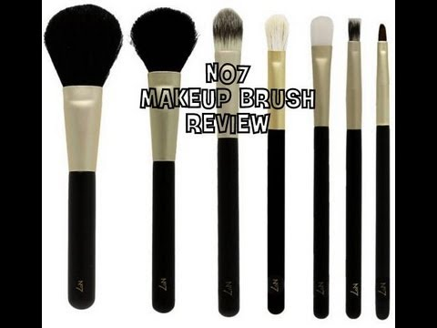No7 Makeup Brush Review Youtube
