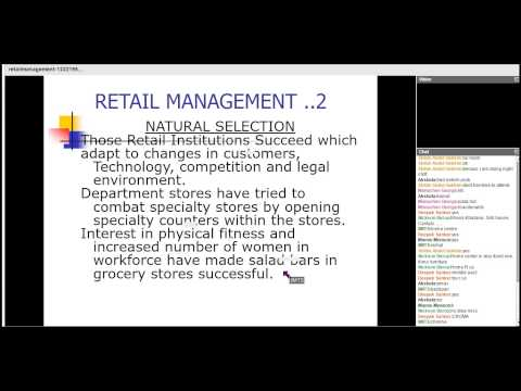 kaushik mba retail operations management 31 october 2014