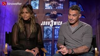 Interview  Halle Berry & Chad Stahelski  JOHN WICK: CHAPTER 3 - PARABELLUM