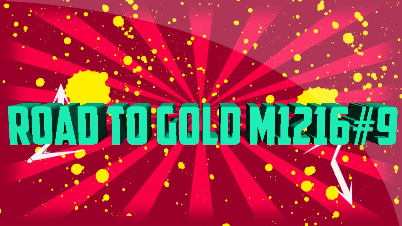 Road To Gold M1216 #9 | Black Ops 2 | byRaMbO YTB - YouTube M1216 Gold