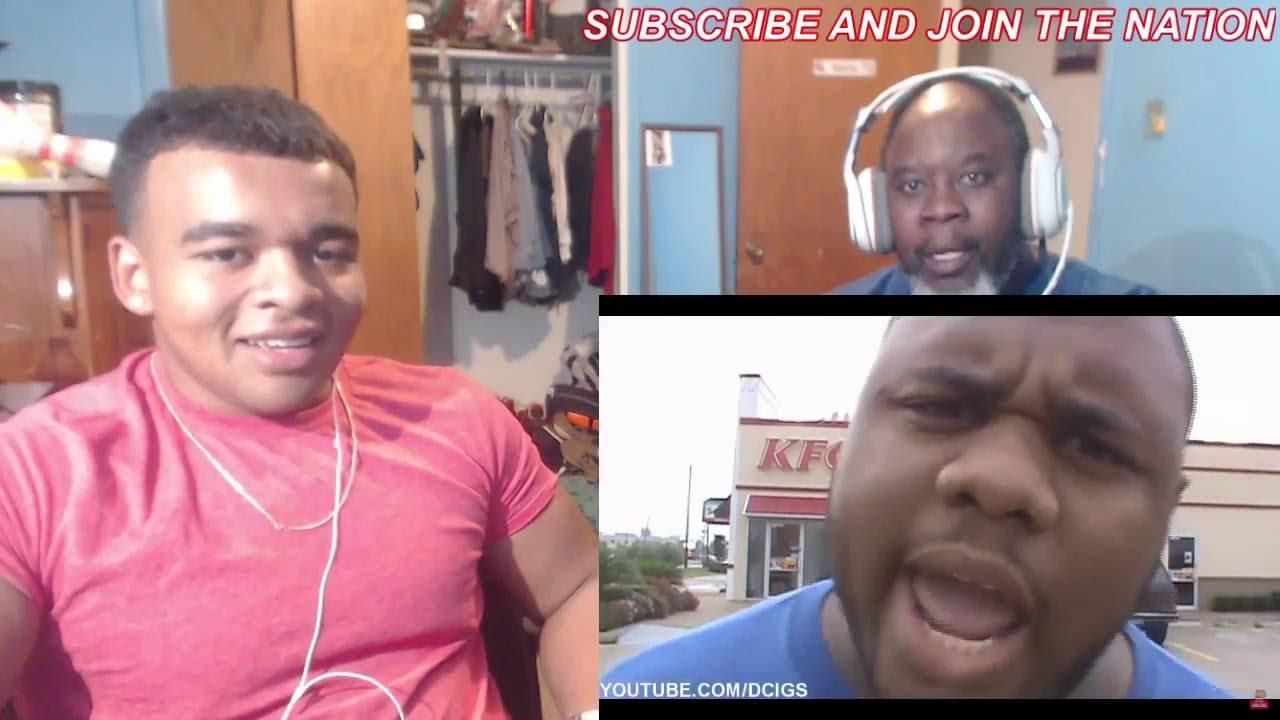 Kfc Black Person: BLACK MAN ANGRY AT KFC By Siggas REACTION!