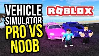 PRO VS NOOB - Roblox Vehicle Simulator w/NubNeb