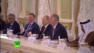 Путин Проводит Встречу С Иностранными Инвесторами На Полях Пмэф