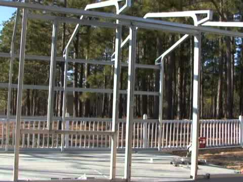 VersaTube Steel Frame Building Project by RV Education 101  YouTube