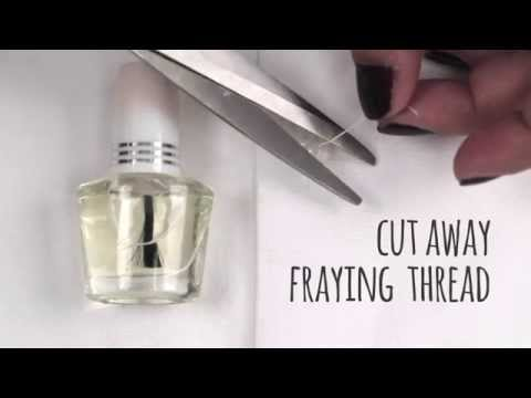 How to Rescue a Fraying Button Thread [Sewing Tips]