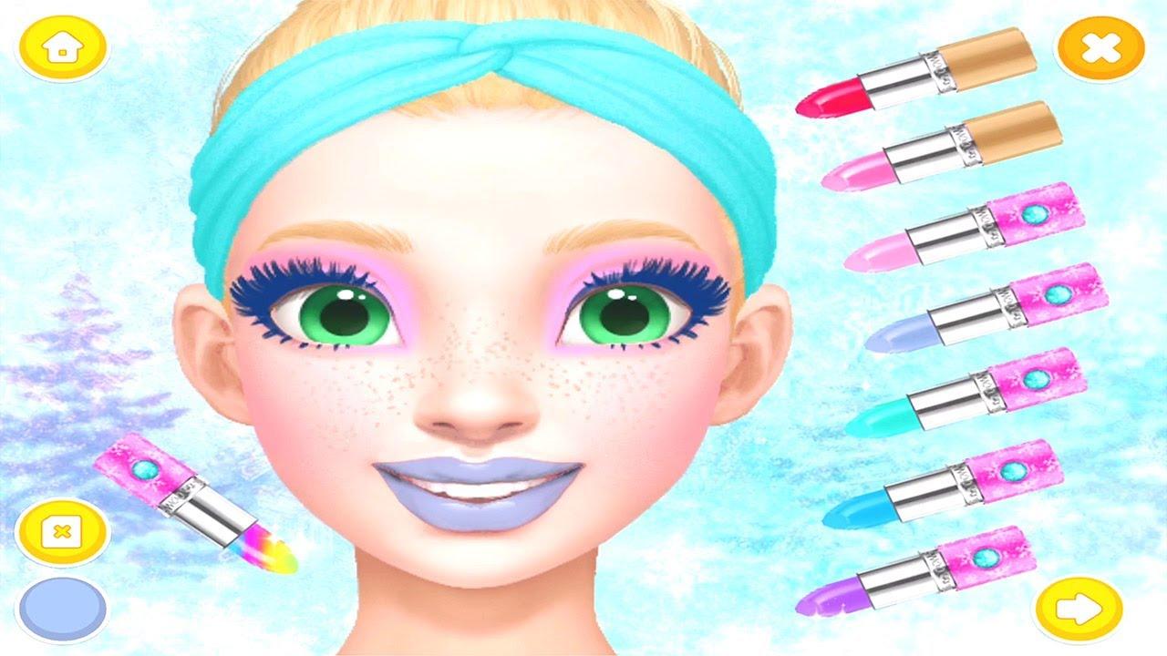 Best Game for Kids   Princess Gloria Makeup Salon Games ...