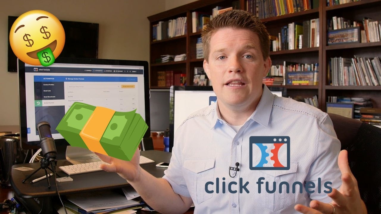 Best 2019 CLICKFUNNELS Tutorial Building a Sales Funnel w Russell Brunson Himself !