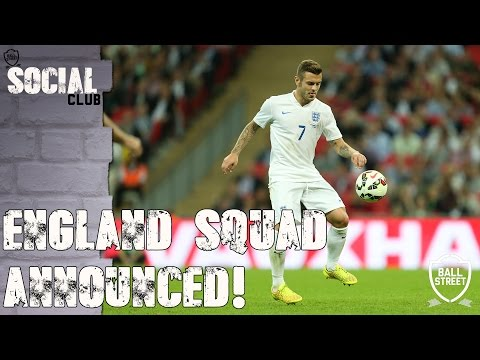 """NO CARROLL, DEFOE OR NOBLE?"" ENGLAND 26 MAN SQUAD ANNOUNCED (ANY GLARING OMISSIONS?) 