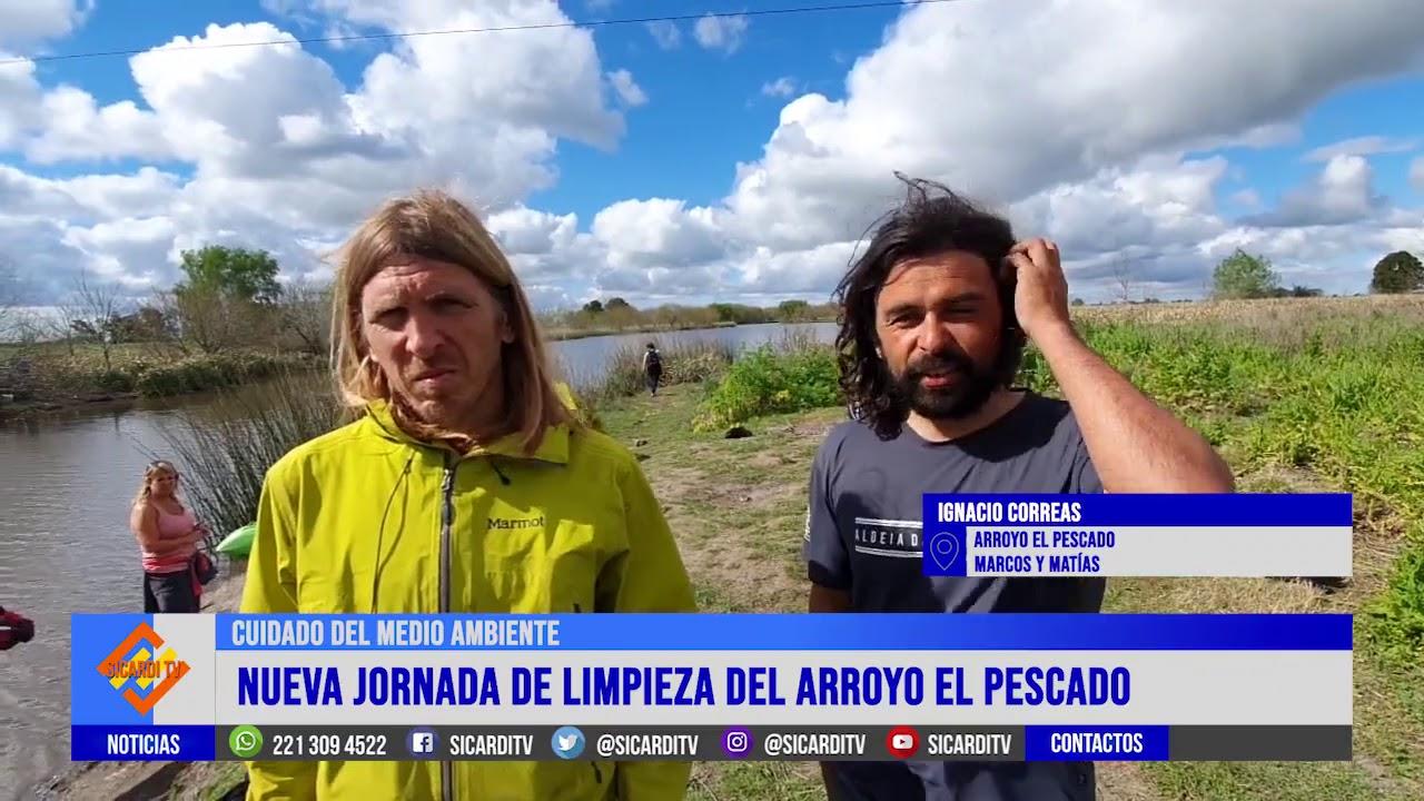 Nueva jornada de limpieza del Arroyo El Pescado