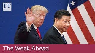 China v US at G20, CDU leader election, Thomas Cook results
