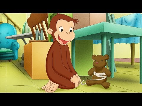 Curious George 🐵 Hole in The Roof 🐵Compilation 🐵 HD 🐵 Cartoons For Children