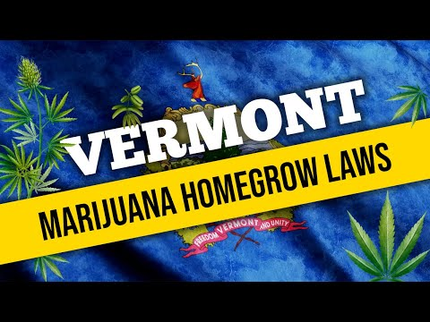 Vermont Marijuana Laws for Home Cultivation and Medical Use in 2021