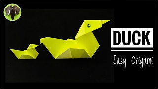 Origami  'Duck' - Simple and Easy - DIY Tutorial by Paper Folds