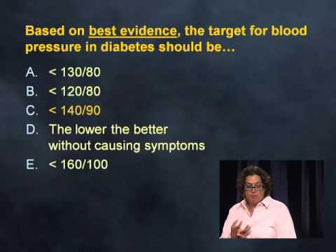 Diabetes: Standards of Care | Medstudy Endocrinology 2016 IM Recertification Preview