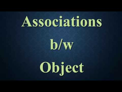 Lesson 8 -  Associations between Objects  [ Java for Beginners ]