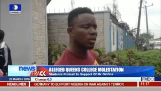Queens College Students Protest In Support Of Alleged Molester