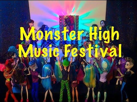 Monster High - Music Festival