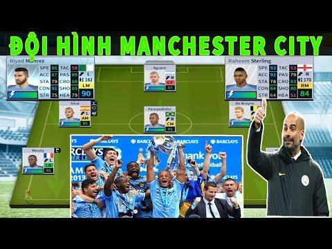 Thử Đội Hình Manchester City Vô địch Ngoại Hạng Anh và cái kết  Dream League Soccer  2019