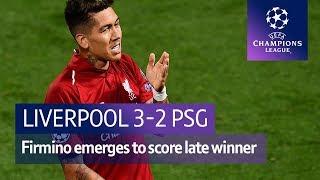 Liverpool vs PSG (3-2) UEFA Champions League Highlights