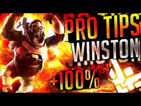 PRO CONSEJOS / TIPS con WINSTON!! || Overwatch Cómo ser pro || Español Radiactial