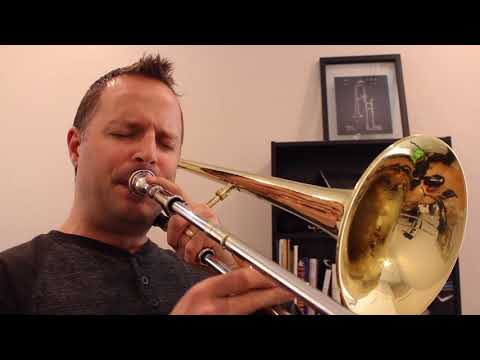Cripe! Composition by Jim Lutz for jazz trombone choir