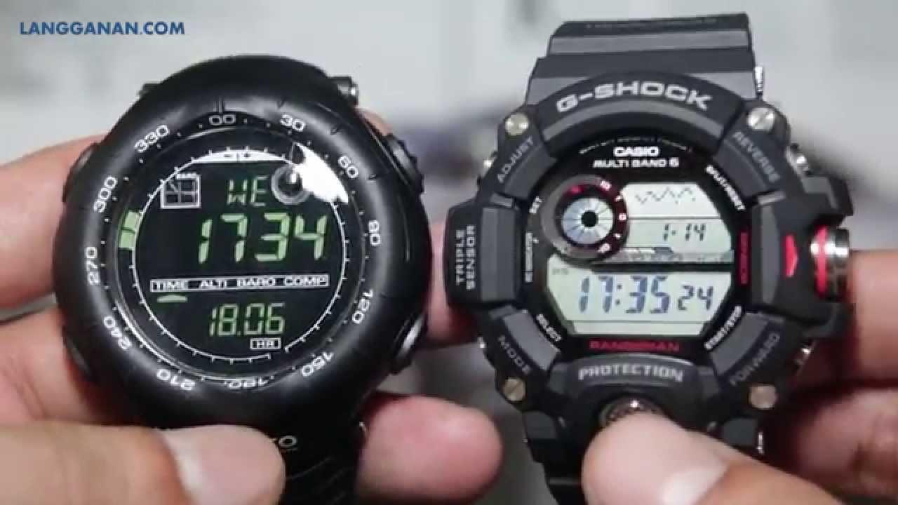 690870fdea8c Suunto Vector HR VS Casio G Shock Rangeman GW-9400-1 - YouTube