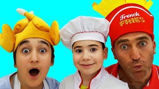 Gamze father and brother changed profession, fun kid video