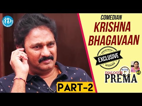 Comedian Krishna Bhagavaan Exclusive Interview Part #2 || Dialogue With Prema | Celebration Of Life