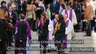 Vidéo résumé des obsèques de Jean Rochefort