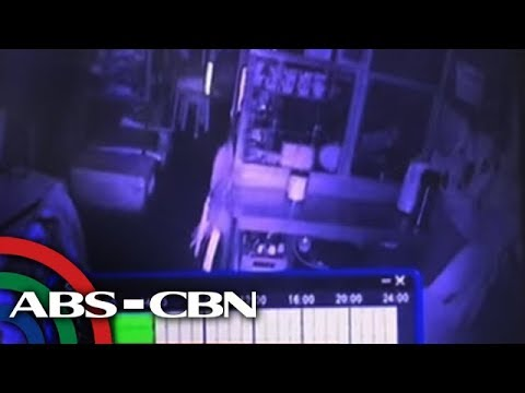 Karinderya nilooban; mukha ng kawatan hagip sa CCTV