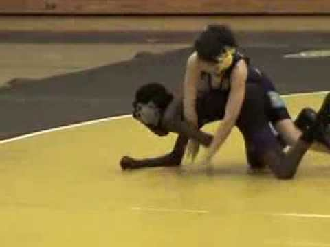 Josh Evenson vs Larkspur Middle School 2014 Wrestling