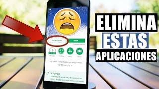 5 Aplicaciones que Debes Eliminar de tu Teléfono 2018!!