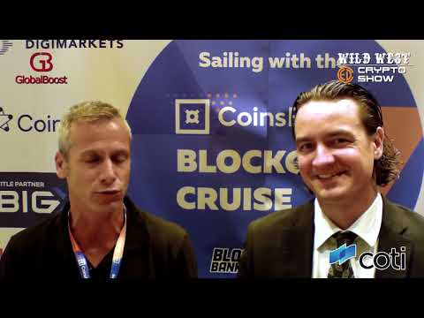 Guy Klajman from COTI | CoinsBank Blockchain Cruise 2018