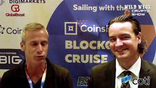 Guy Klajman from COTI | CoinsBank Blockchain Cruise 2018