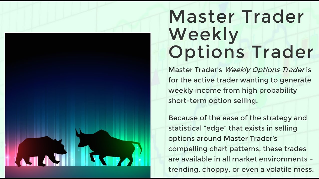 Learn To Trade Weekly Options, Profiting from Weekly Options