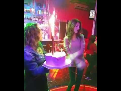 Как празднуют День рождения в караоке клубе Моцарт ( Армения)